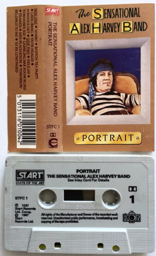 Sensational Alex Harvey Band (The) - Portrait (Cassette Album) (VG/EX)